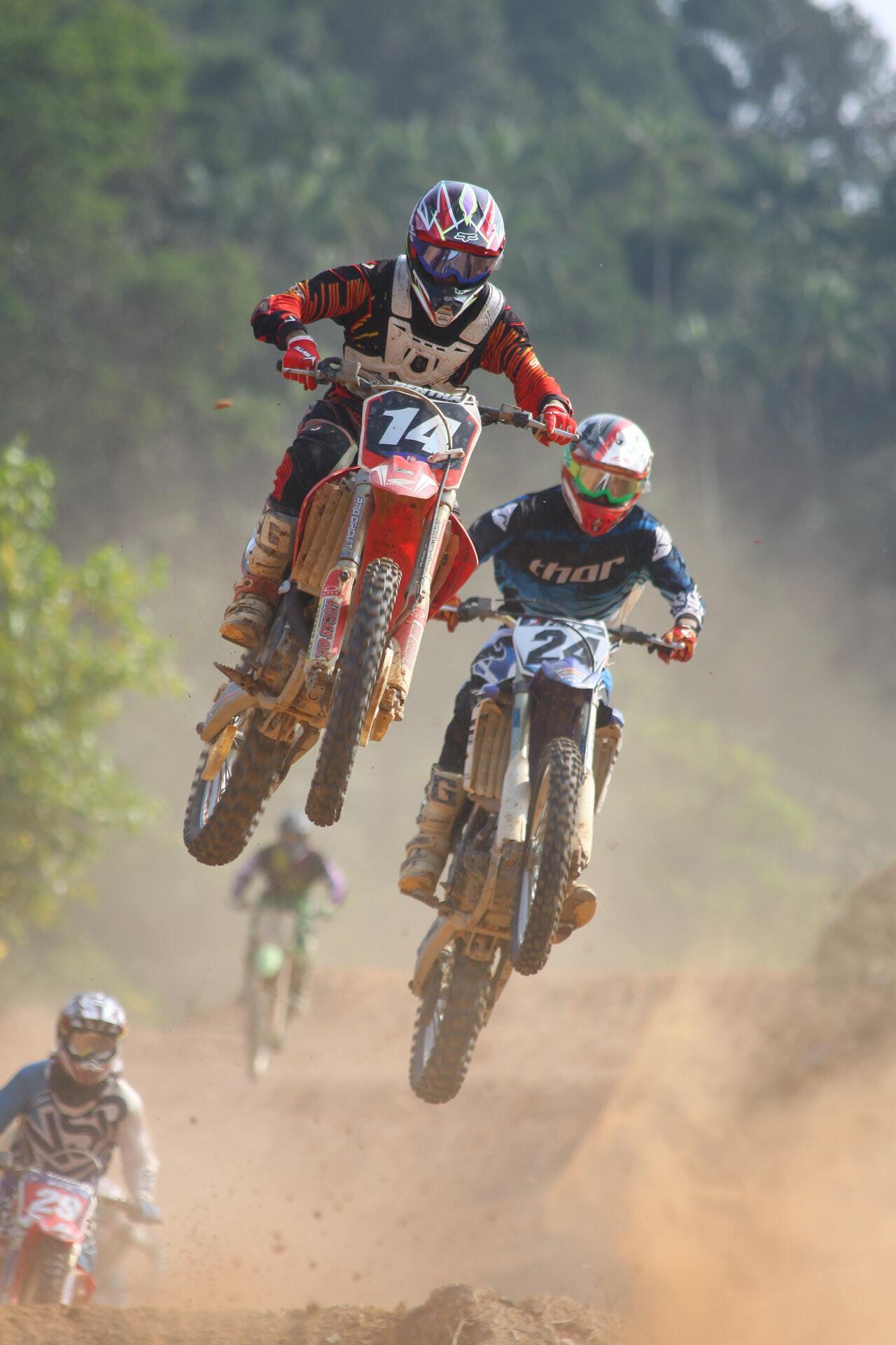 Motocross at Tropik Lombok