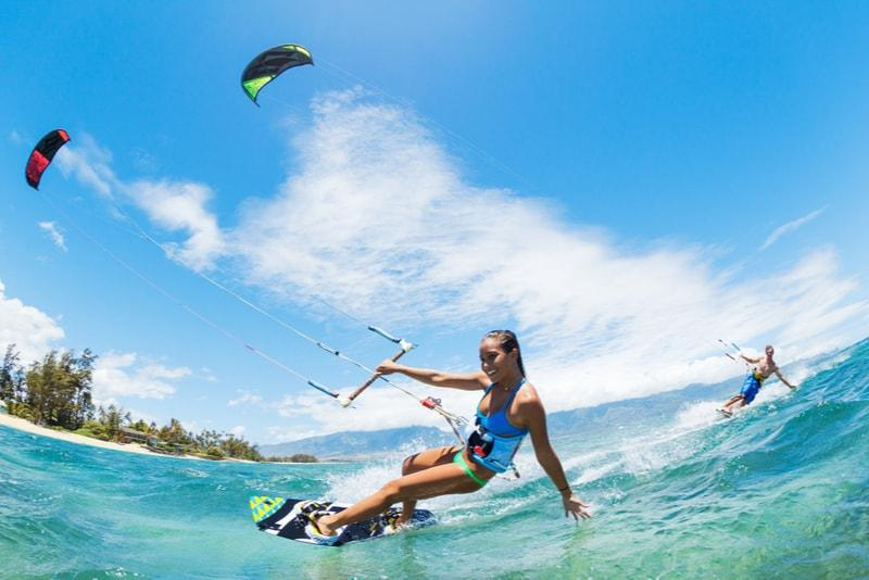 Water sport activities at Tropik Lombok